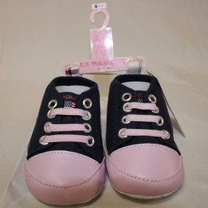 US Polo Assn Soft Sole Baby Shoes